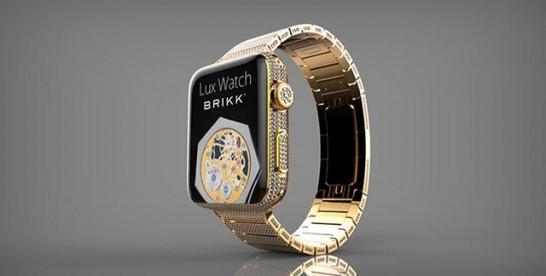 感受下售价70万元的镶钻版苹果手表