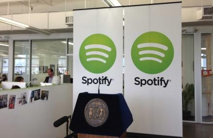 "Spotify又融资,估值84亿美元:""独角兽""排名升至第12位"
