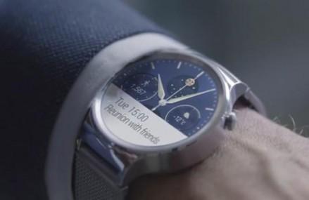 华为发布智能手表视频:突出设计感