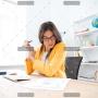 businesswoman-analysing-document-P8WSNMC